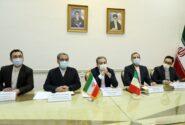 نشست سیاسی معاونان وزرای خارجه ایران و ایتالیا برگزار شد