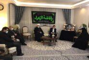 محمود واعظی با خانواده مرحوم حجتالاسلام شهیدی دیدار کرد
