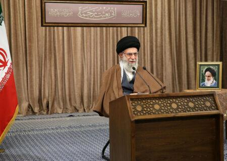 پاسخ  قاطع رهبر انقلاب به انتقاد آمریکایی ها از حضور ایران در سوریه و عراق
