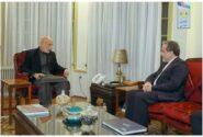 عراقچی با حامد کرزای دیدار کرد