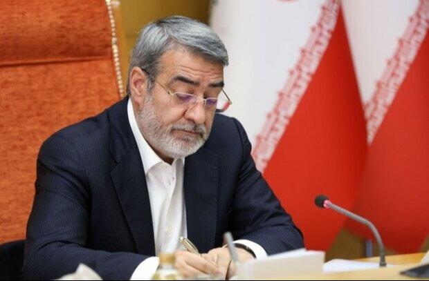 وزیر کشور روز پاسدار و جانباز را تبریک گفت